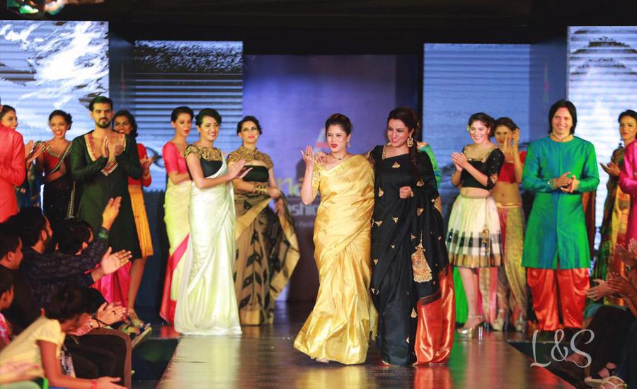 Nauras fashion week- Jayanti ballal's designs rock