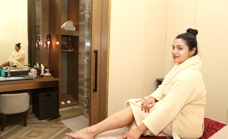 A day of An afternoon high tea  and some luxury treatment