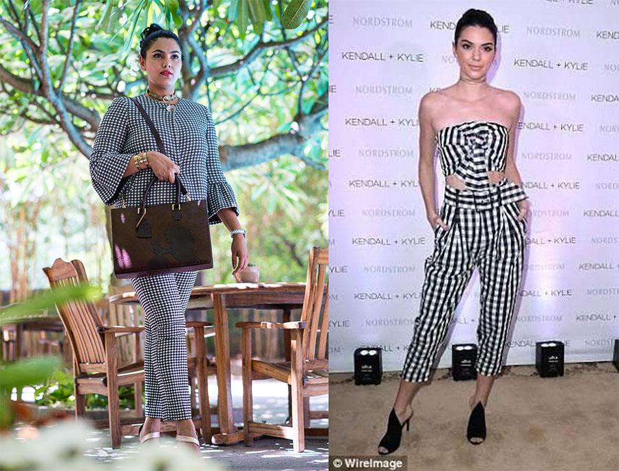 Gingham fashion trends3